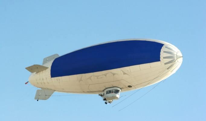 Heißluft Luftschiff Rundflug in Rostock