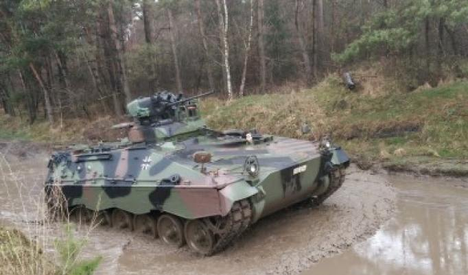 Kettenpanzer Marder selber fahren in Niedersachsen