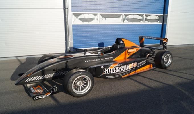 Formel-Masters-Rennwagen selber fahren