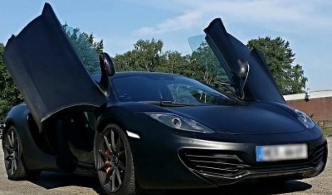 McLaren MP4 fahren in Weeze