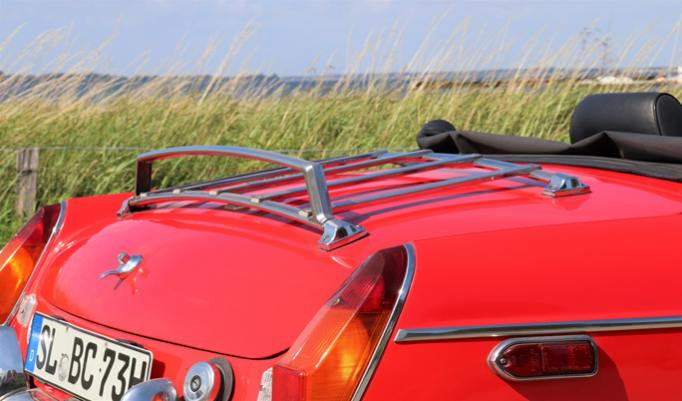 MGB Roadster hinten