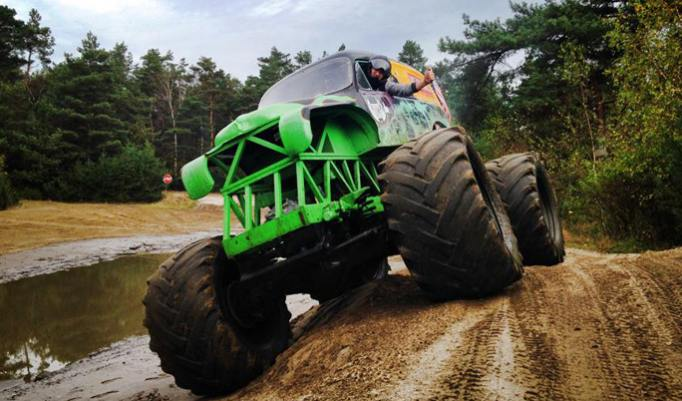 Gutschein für Monster Truck fahren in Fürstenau