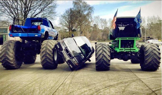 Gutschein für Monster Truck fahren in Lingen