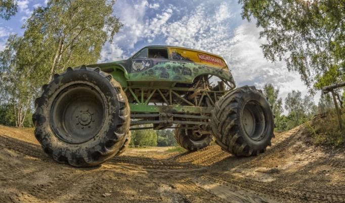Riesen Truck selbst fahren
