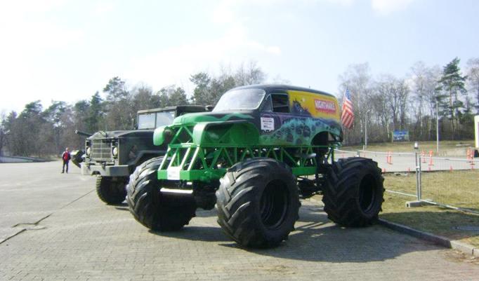 Monster Truck fahren in Fürstenau zu Weihnachten verschenken