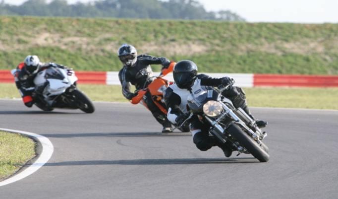 Motorrad-Kurventraining