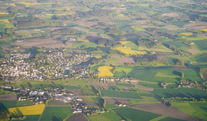 Nostalgischer Rundflug über Delemhorst