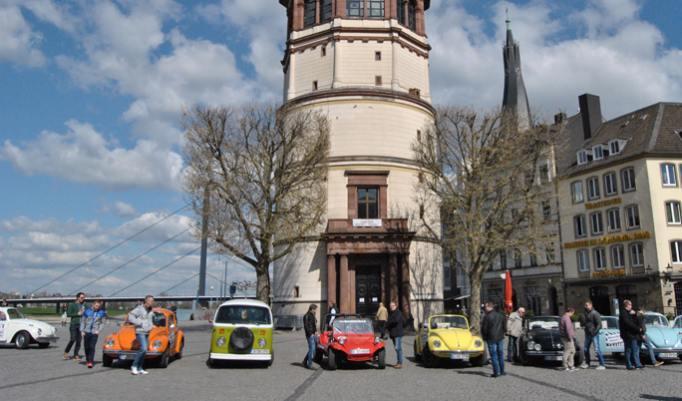 Oldtimer fahren VW Käfer Cabrio fahren