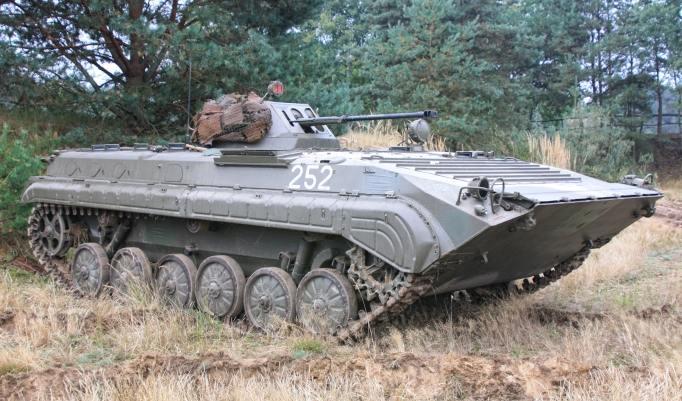 Kettenpanzer Kanone