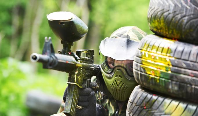 Paintball Versteck