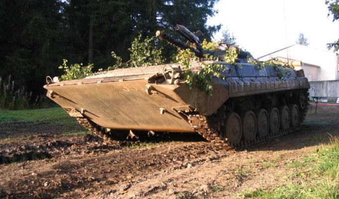 Panzer von unten