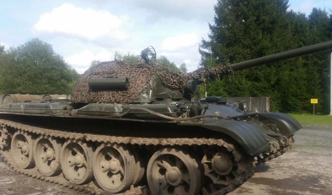 Panzer getarnt