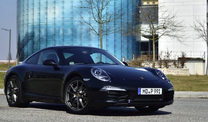 Porsche 911 Carrera Renntaxi am Spreewaldring