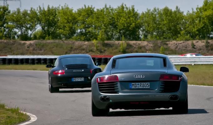 Audi R8 V10 selber fahren in Hamburg