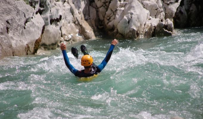 Rafting Canyoning Teambuilding