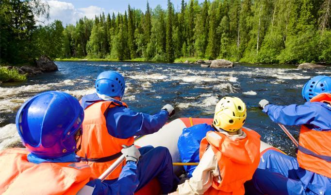Rafting in Lenggries