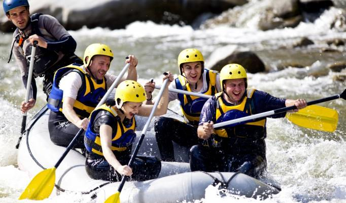 Rafting in Haiming