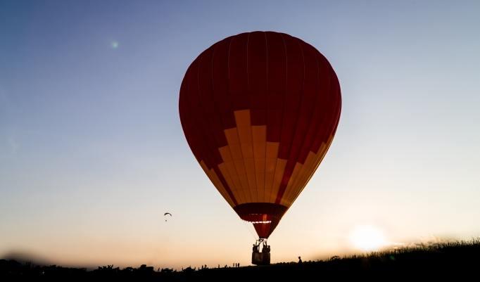 Heißluftballonfahrt Zwickau