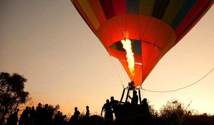 Ballonfahrt in Celle