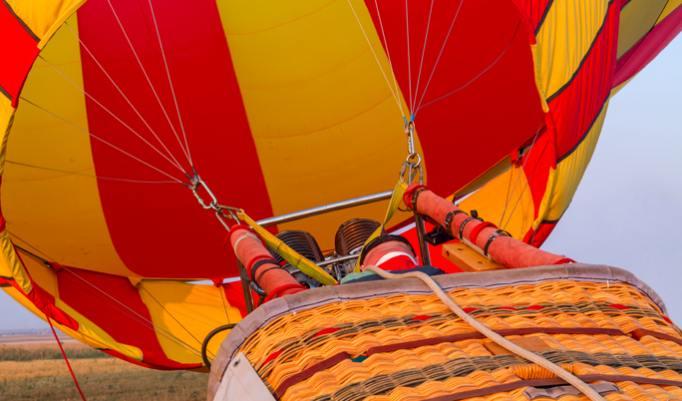 Heißluftballonfahrt in Reutte