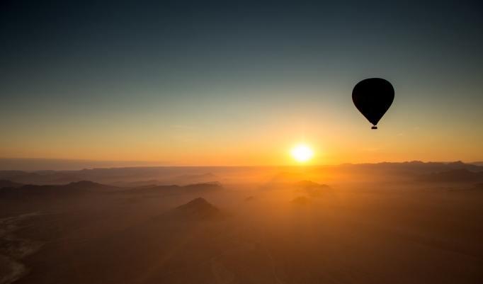 Heißluftballonfahrt in Sonsbeck
