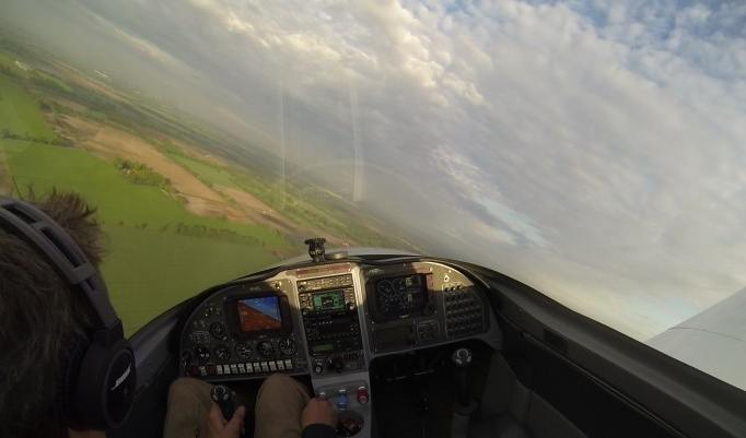 Cockpit Rundflug