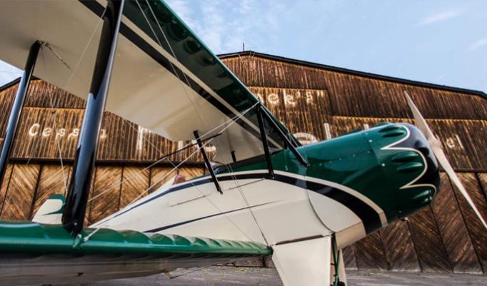 Gutschein für Doppeldecker Rundflug kaufen