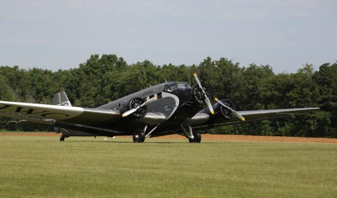 JU 52 beim Rundflug