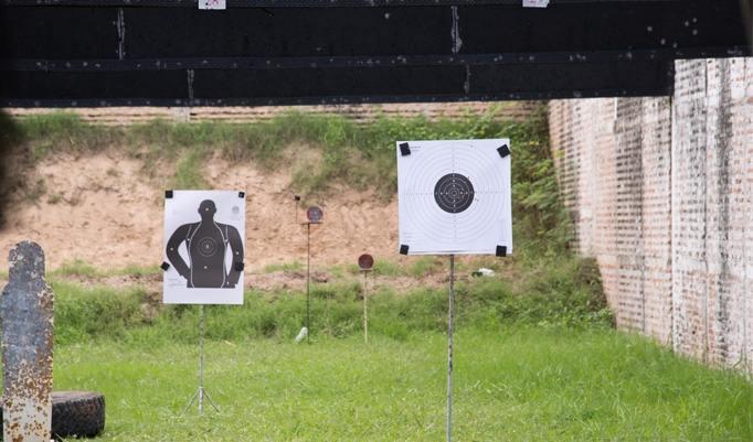 Schießen auf Ziele