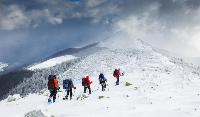 Schneeschuhwanderung in Kempten