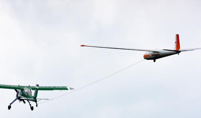Segelfliegen Rundflug in Ravensburg