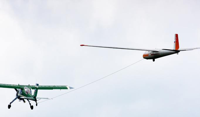 Segelfliegen Rundflug in Memmingen