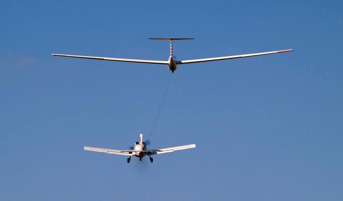 Segelfliegen Rundflug in Bad Saulgau