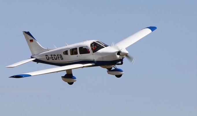 Ultraleichtflugzeug Flug