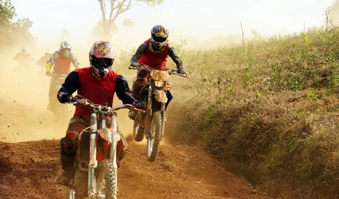 Motocross rennen
