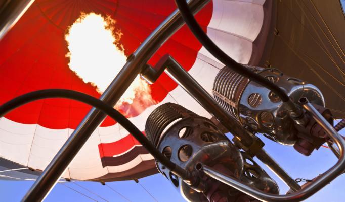 Heißluftballonfahrt in Uckerland