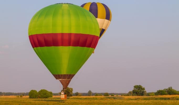 Gutschein Ballonfahrt um Bad Homburg von der Höhe und Usingen