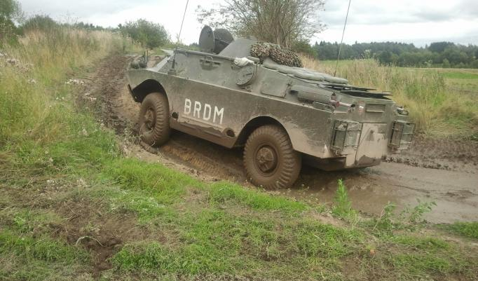 Panzer fahren in Benneckenstein