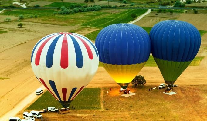 Heißluftballonfahrt in Laupheim