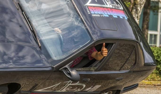 Fahrtraining im Stuntcar
