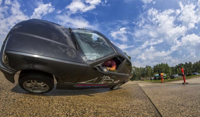 Fahrtraining im Stunt Car