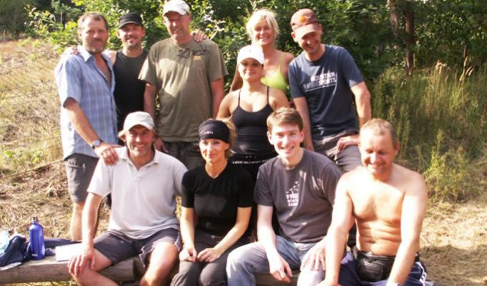 Survival-Ausbildung Gruppe