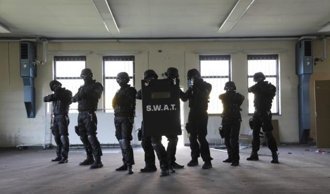 SWAT Training Teambuilding