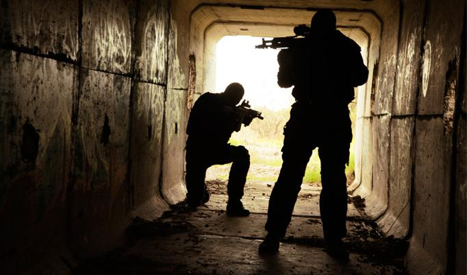 SWAT Training in München