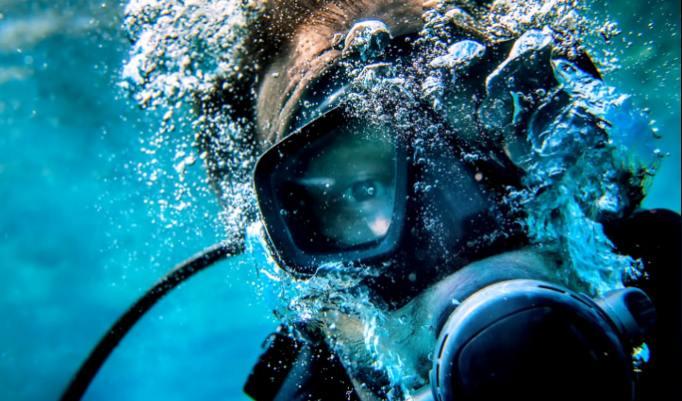 Unterwasserspaß