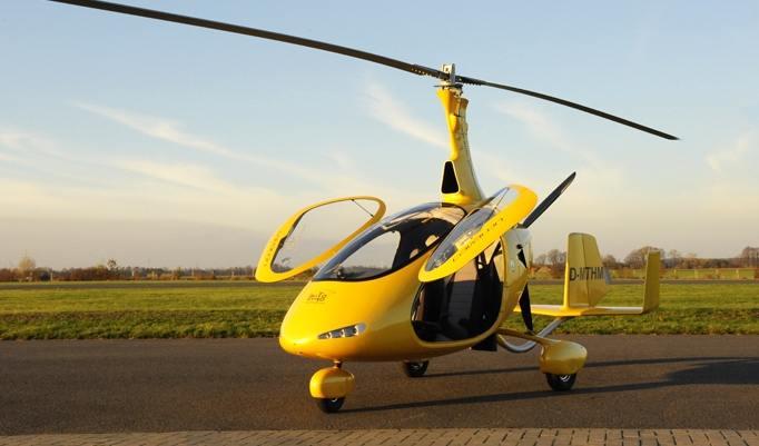 Ruhender Gyrokopter