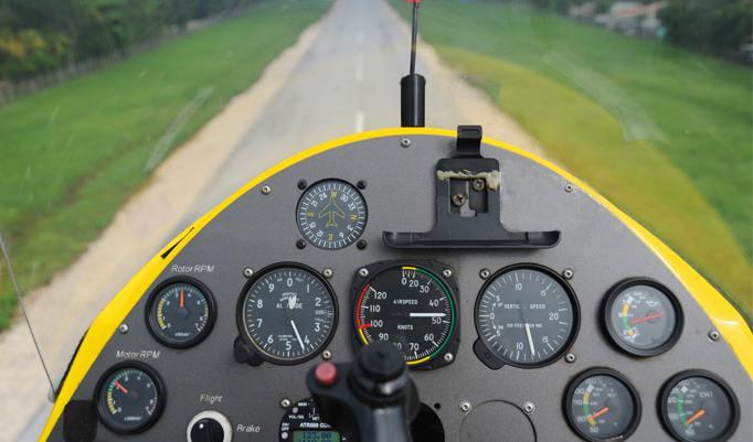 Tragschrauber Rundflug in der Region Niederrhein