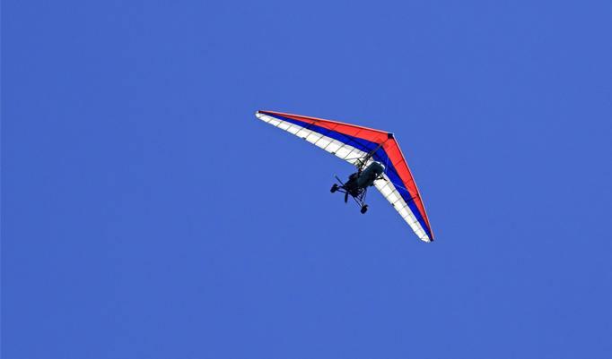 Trike Flug