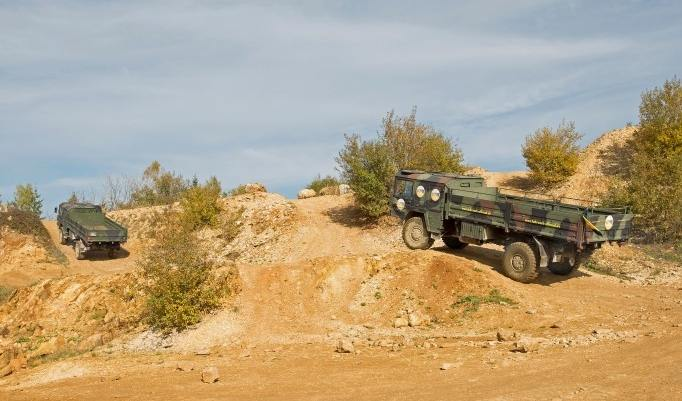 Truck Trial offroad