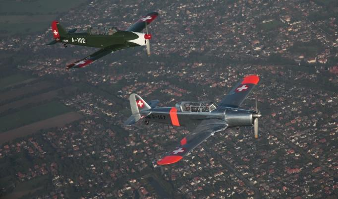 Jagdflugzeuge Warbird